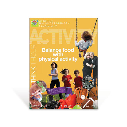 Activity MyPlate Food Group Poster