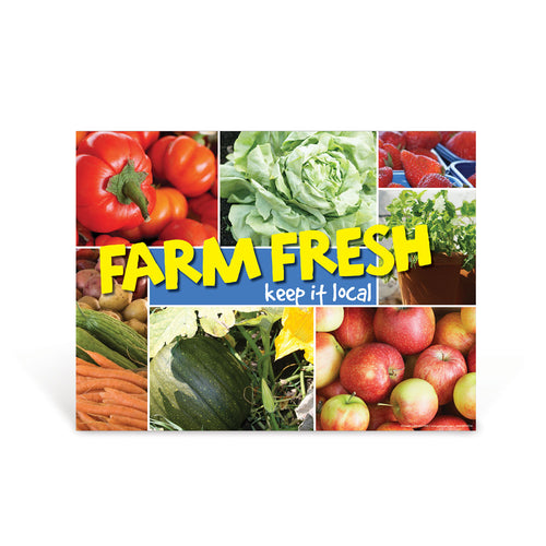 Farm Fresh Keep it Local Poster