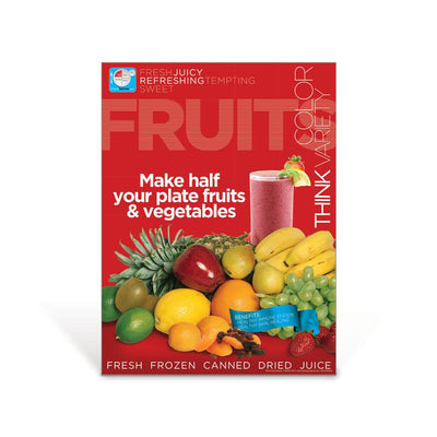 Fruits MyPlate Food Group Poster