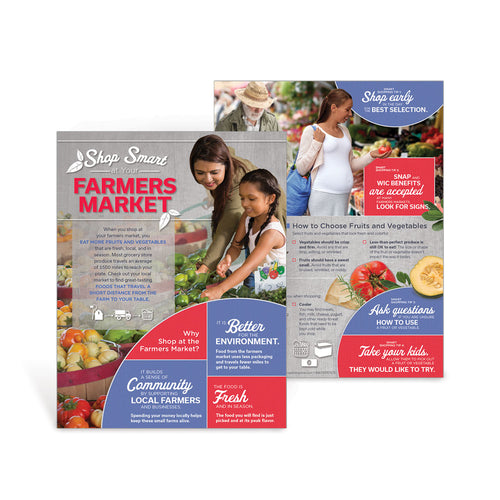 Shop Smart at Your Farmers Market Handouts