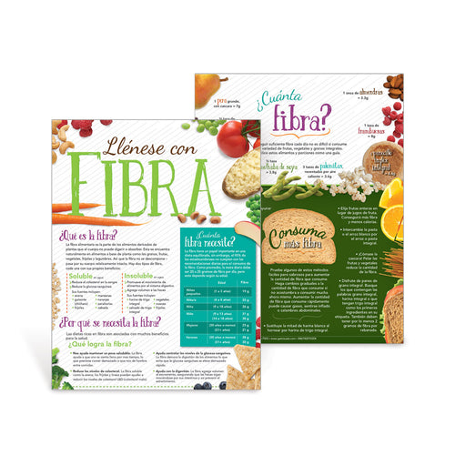 Fill Up with Fiber Spanish Handouts