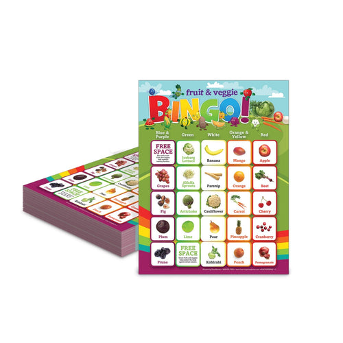Fruits and Veggies Bingo