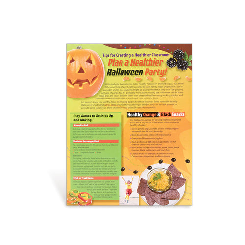 PE-Nut Healthy Halloween Party Tips Handouts