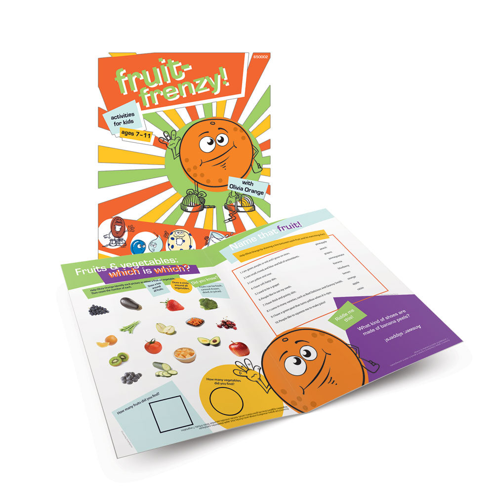Fruit-Frenzy! Activity Book