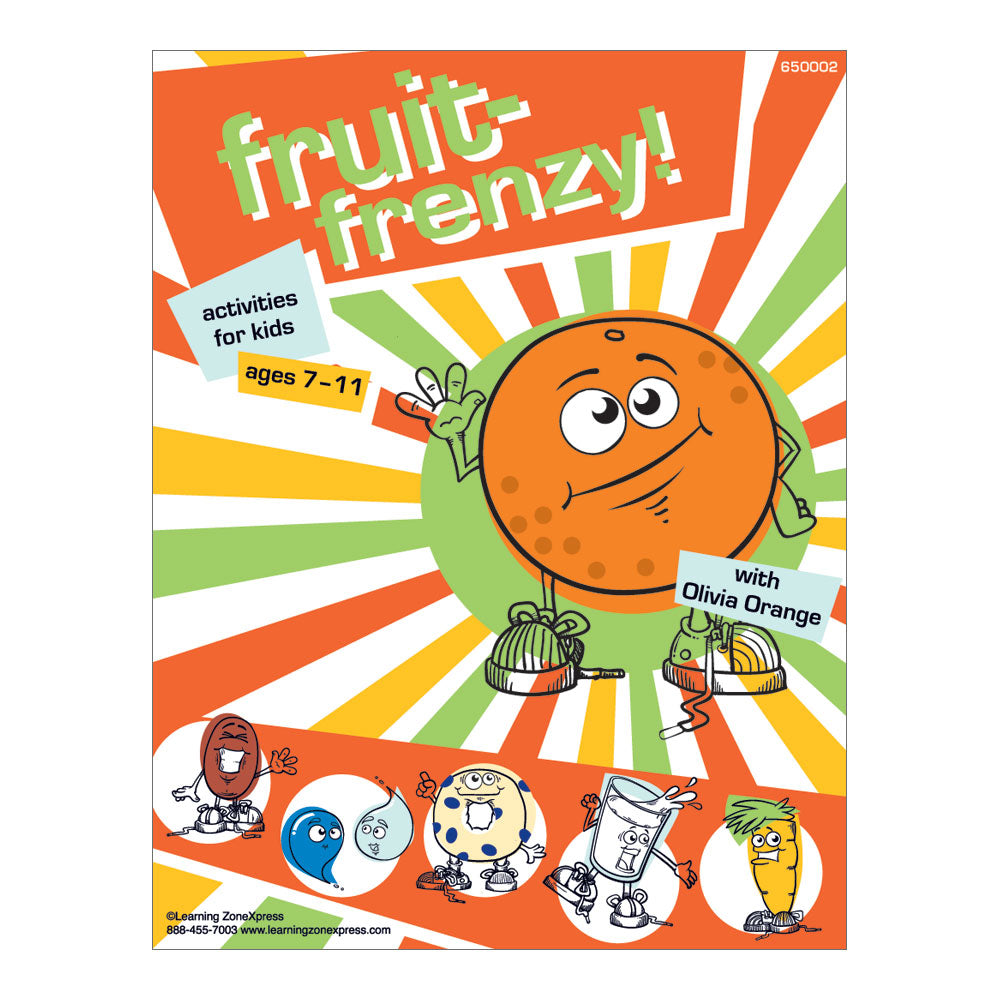 Fruit Activity Book
