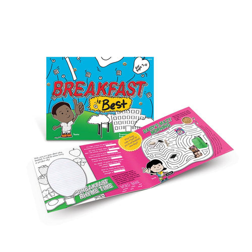 Breakfast is Best Activity Book (Ages 7-11)