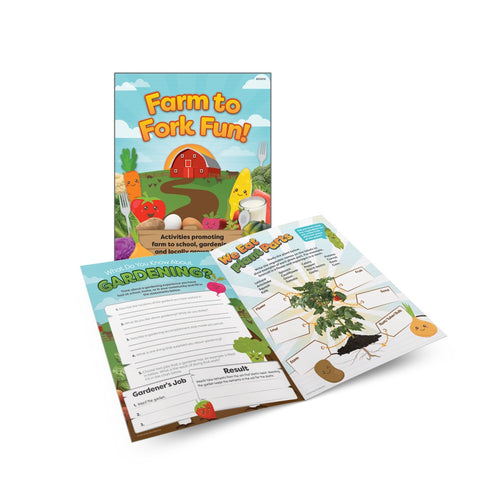Farm to Fork Fun! Activity Book