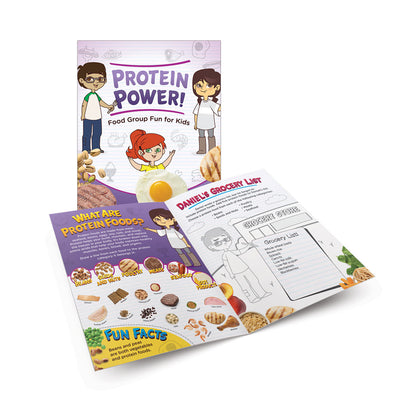Protein Power! Activity Books