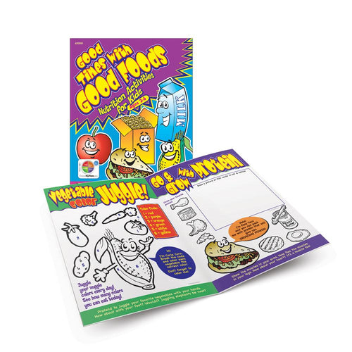 Good Times with Good Foods Activity Book (Ages 2-6)
