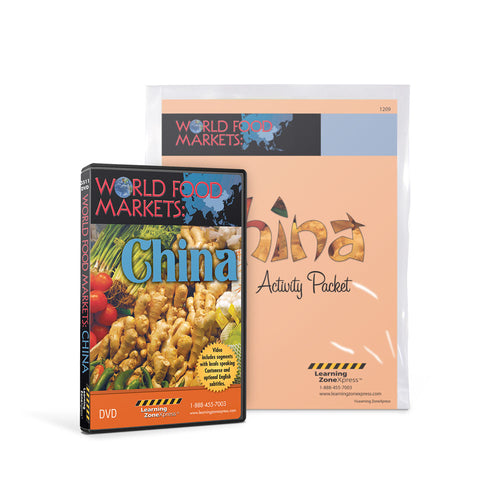 World Food Markets: China DVD & Activity Packet