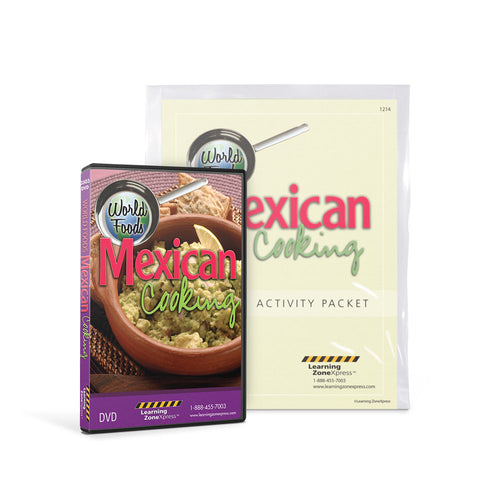 World Foods: Mexican Cooking DVD & Activity Packet