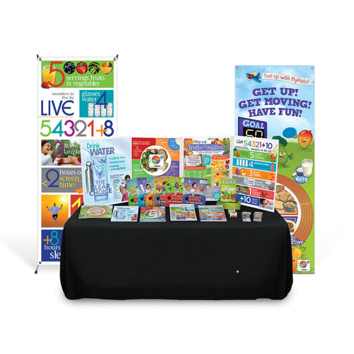 Live 54321® Health Fair Kit