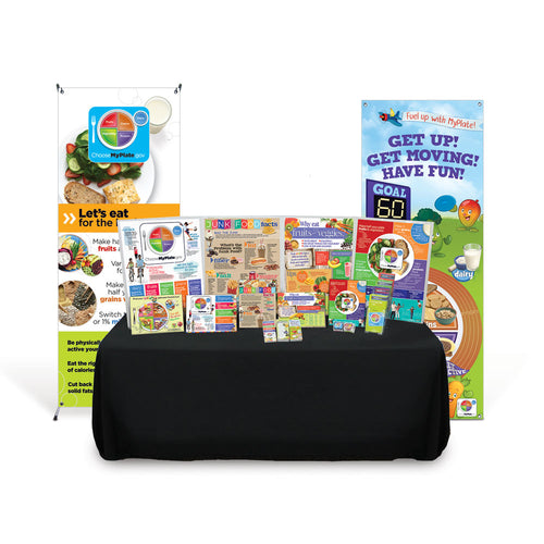 MyPlate Health Fair Kit | Health Fair Ideas