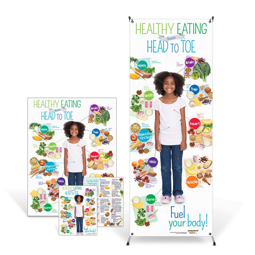 Kid's Healthy Eating from Head to Toe Kit