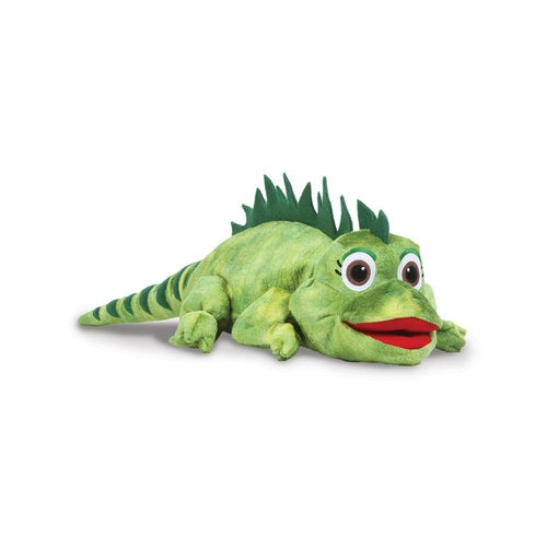 LANA the Iguana Plush Puppet