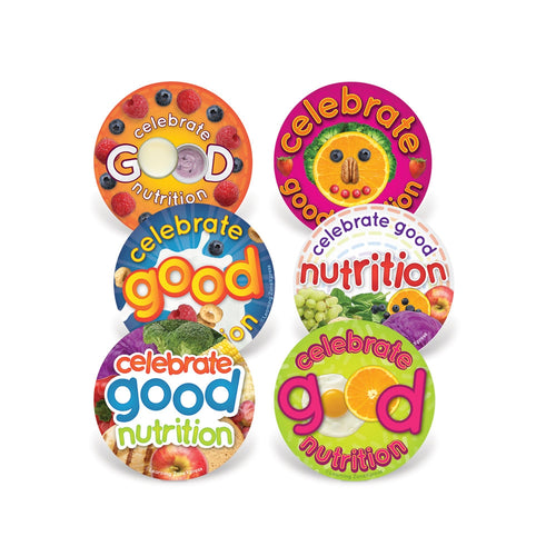 Celebrate Nutrition Stickers