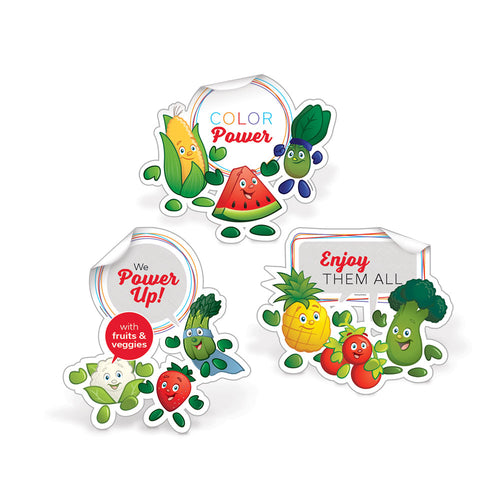Garden Heroes® Die-Cut Decal Set