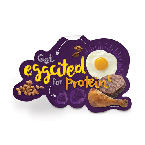 Protein Food Group Die-Cut Decal