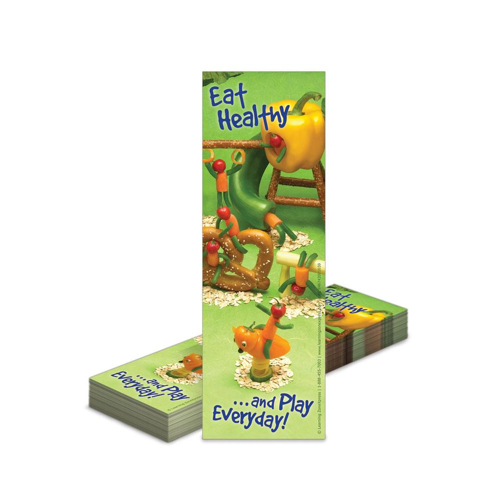 Healthy Eating Playground Bookmarks