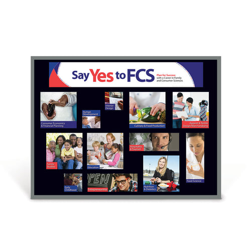 Say Yes to FCS Bulletin Board Kit