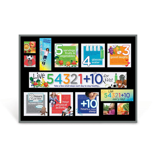 Live 54321+10­® Bulletin Board Kit