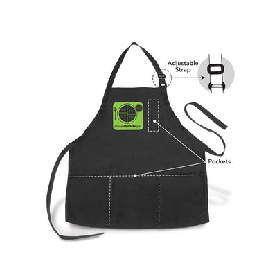 Choose MyPlate Black Apron