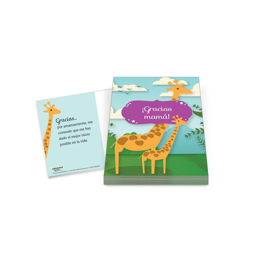 Breastfeeding Spanish Thank You Postcards