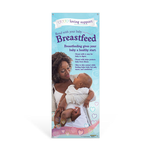 Breastfeeding Benefits WIC Vinyl Banner