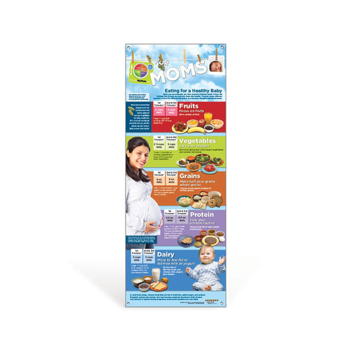 MyPlate for Expecting Moms Vinyl Banner
