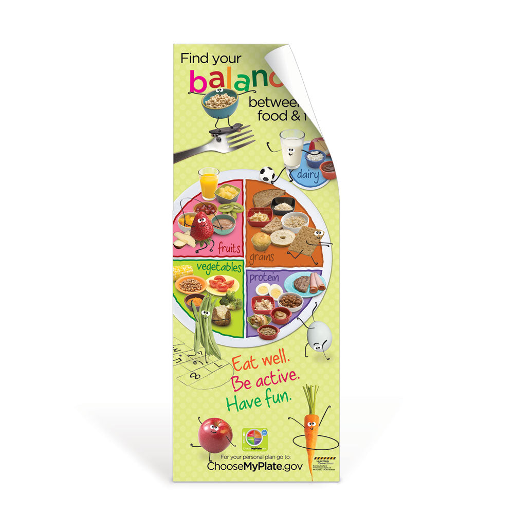 Kids MyPlate Decal Banner