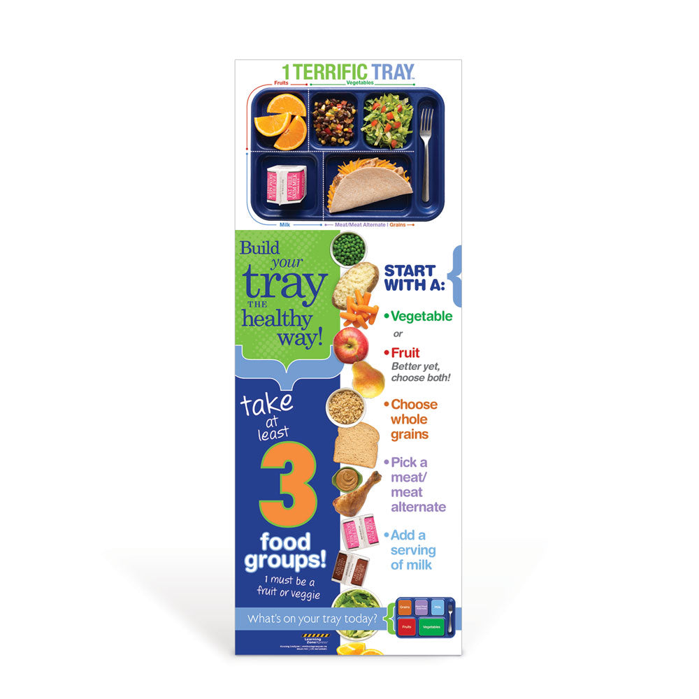 1 Terrific Tray™ Decal Banner