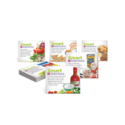 Smart Selections Food Pantry Nutrition Tip Cards