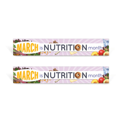 march is nutrition month signs