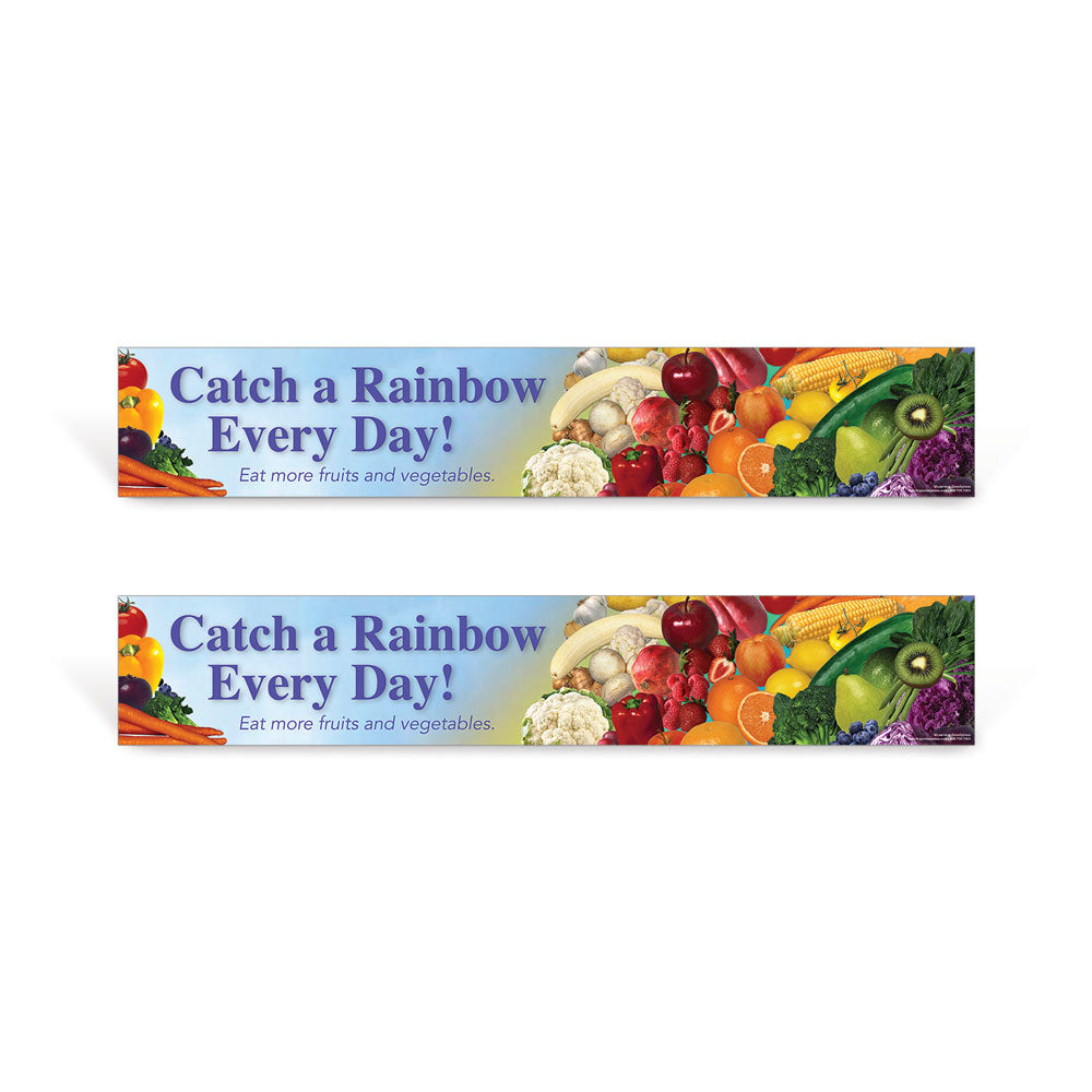 Eat a Rainbow signs