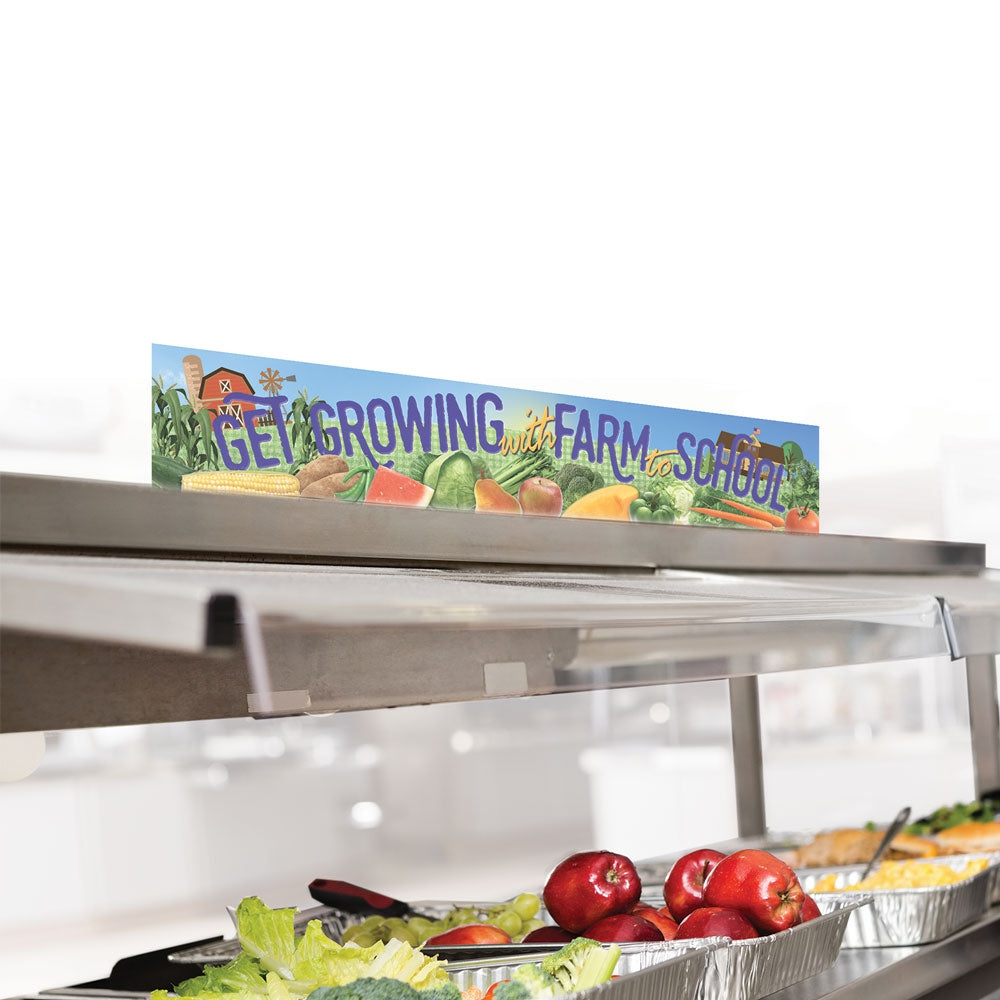 Farm to School Cafeteria Countertop Sign Set