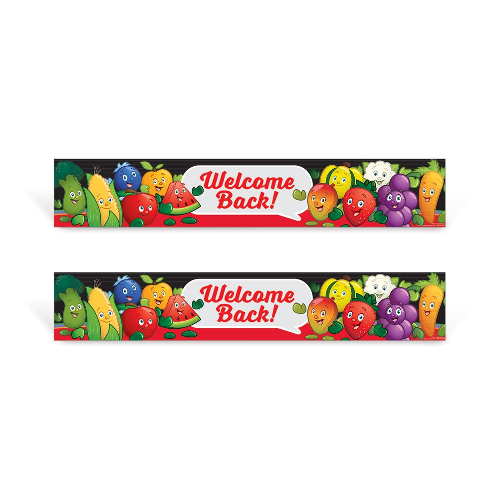 Garden Heroes® Welcome Back Sign Set