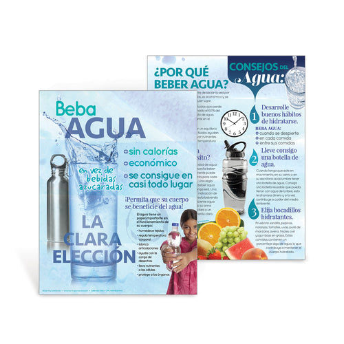 Drink Water Spanish Handout