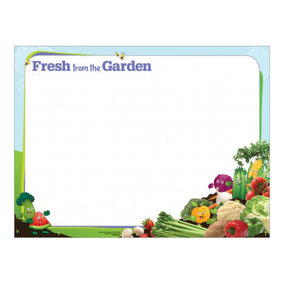 Fresh from the Garden Dry Erase Menu Board