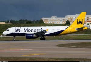 Monarch Airlines 'M' Centre Point