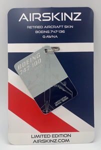 4**PRE ORDER FOR FOURTH BATCH SHIPPING MID MARCH** Boeing 747-100 Airskinz British Airways G-AWNA