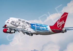 Virgin Atlantic Boeing 747-400 Prints