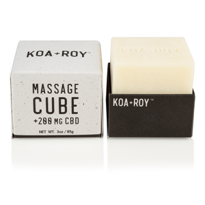 MASSAGE CUBE + CBD