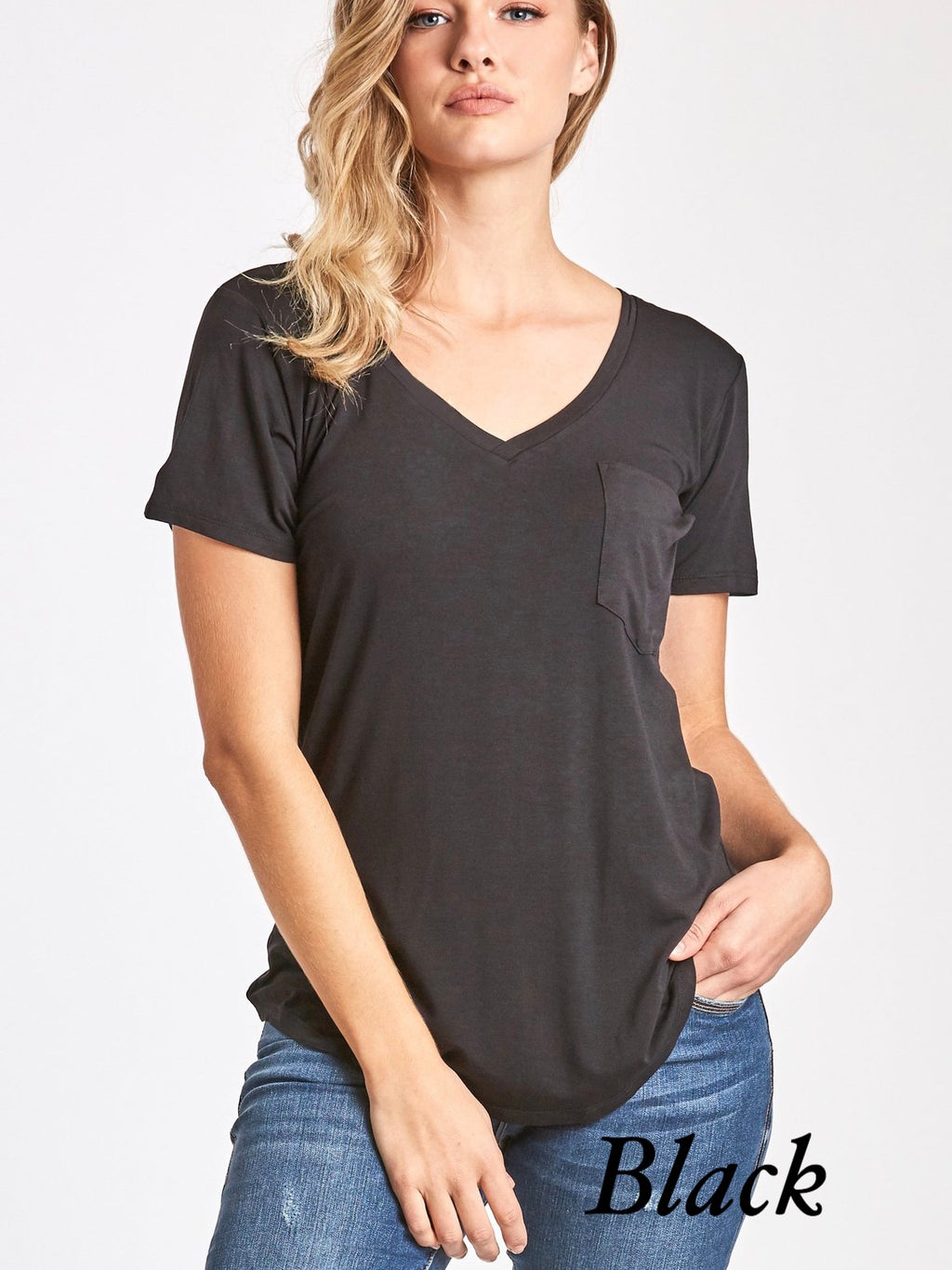 Favorite V-Neck Top