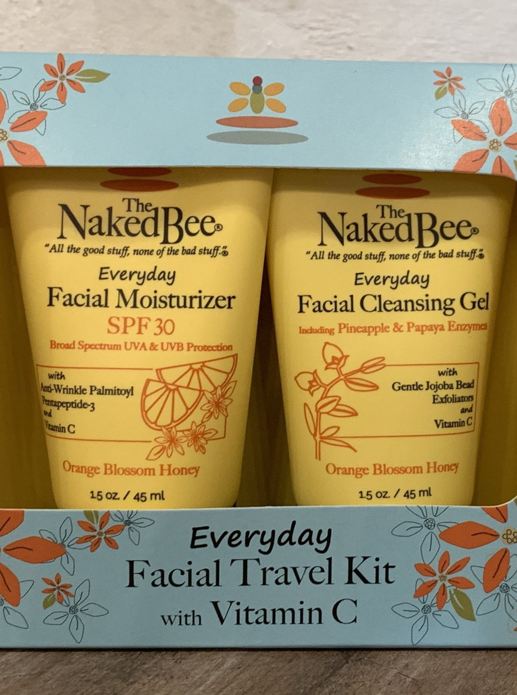 Naked Bee Facial Travel Kit