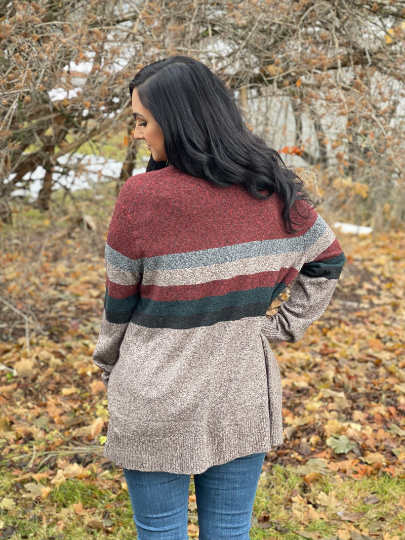 Heather Multi Color Cardigan