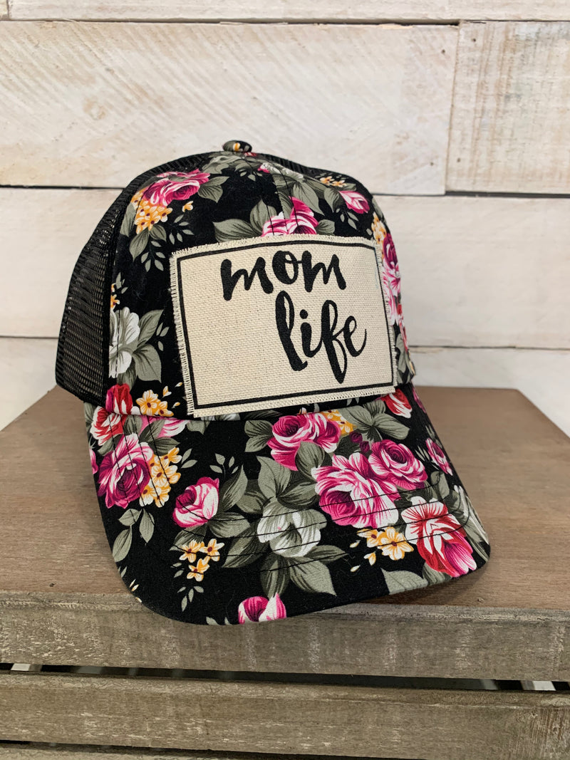 Vintage Life Hat With Print