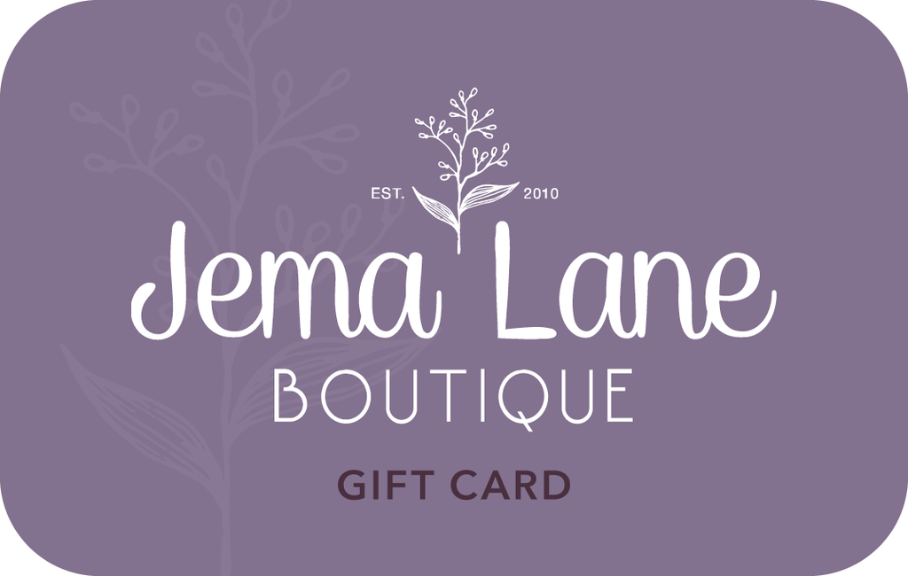 Jema Lane Gift Card | Shop at Jema Lane Boutique