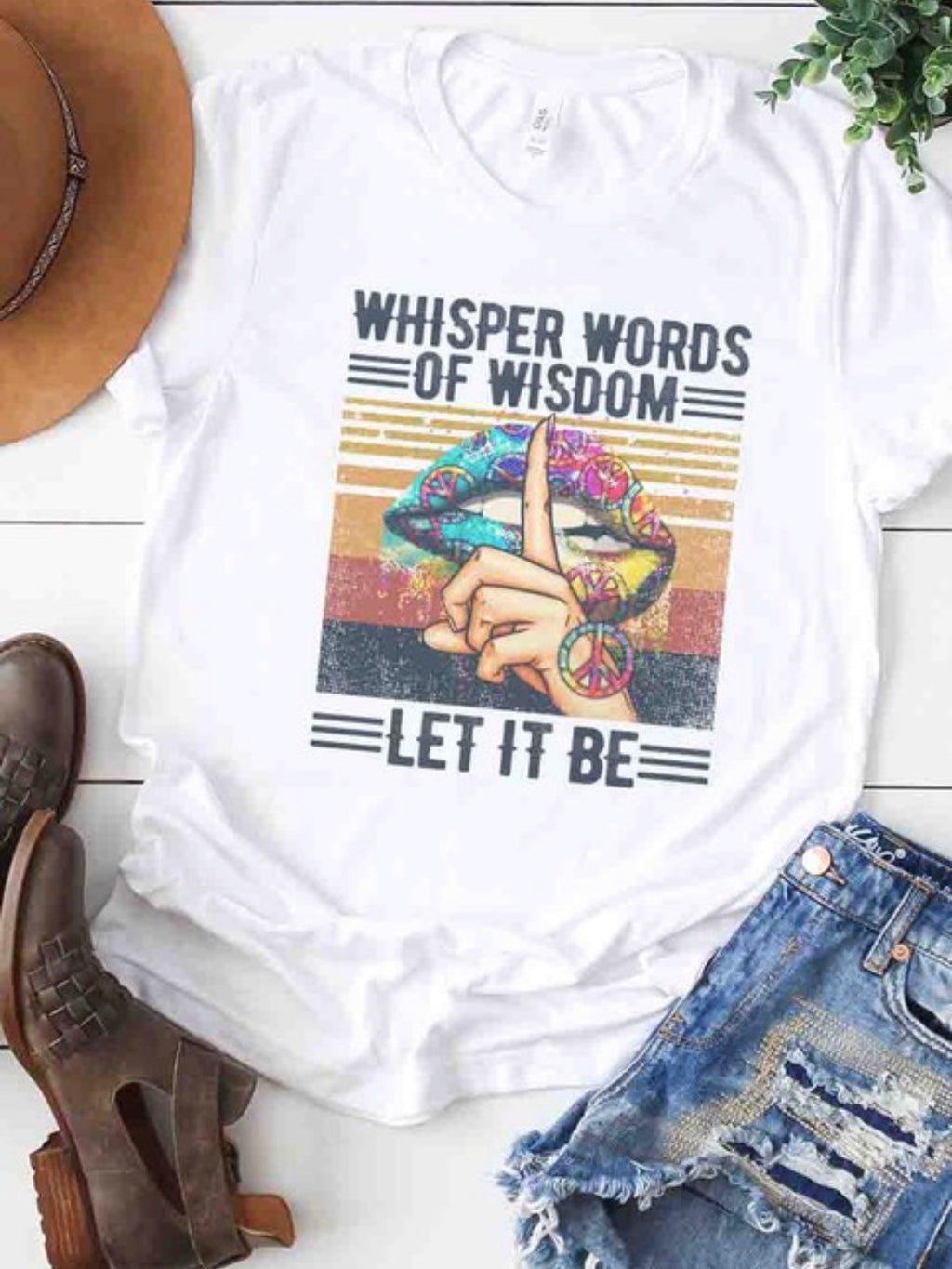 Whisper Words Of Wisdom Tee