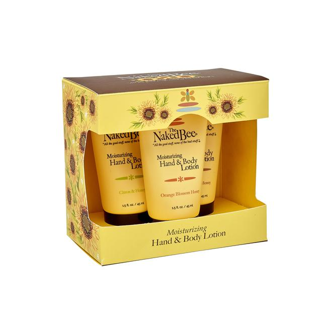 Naked Bee 3 Lotion Gift Set