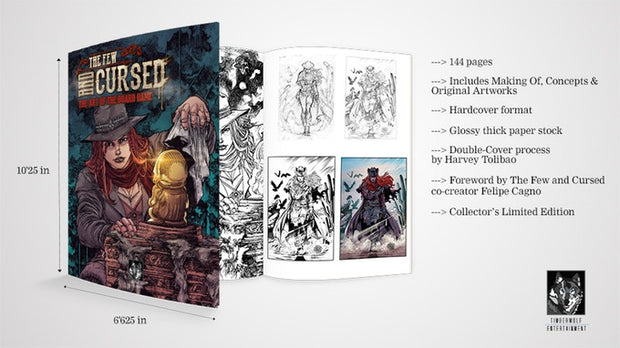 The Few and Cursed Art Book 1